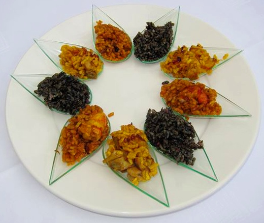 Rice Dishes Tasting